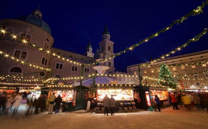 שוק חג המולד בזלצבורג
